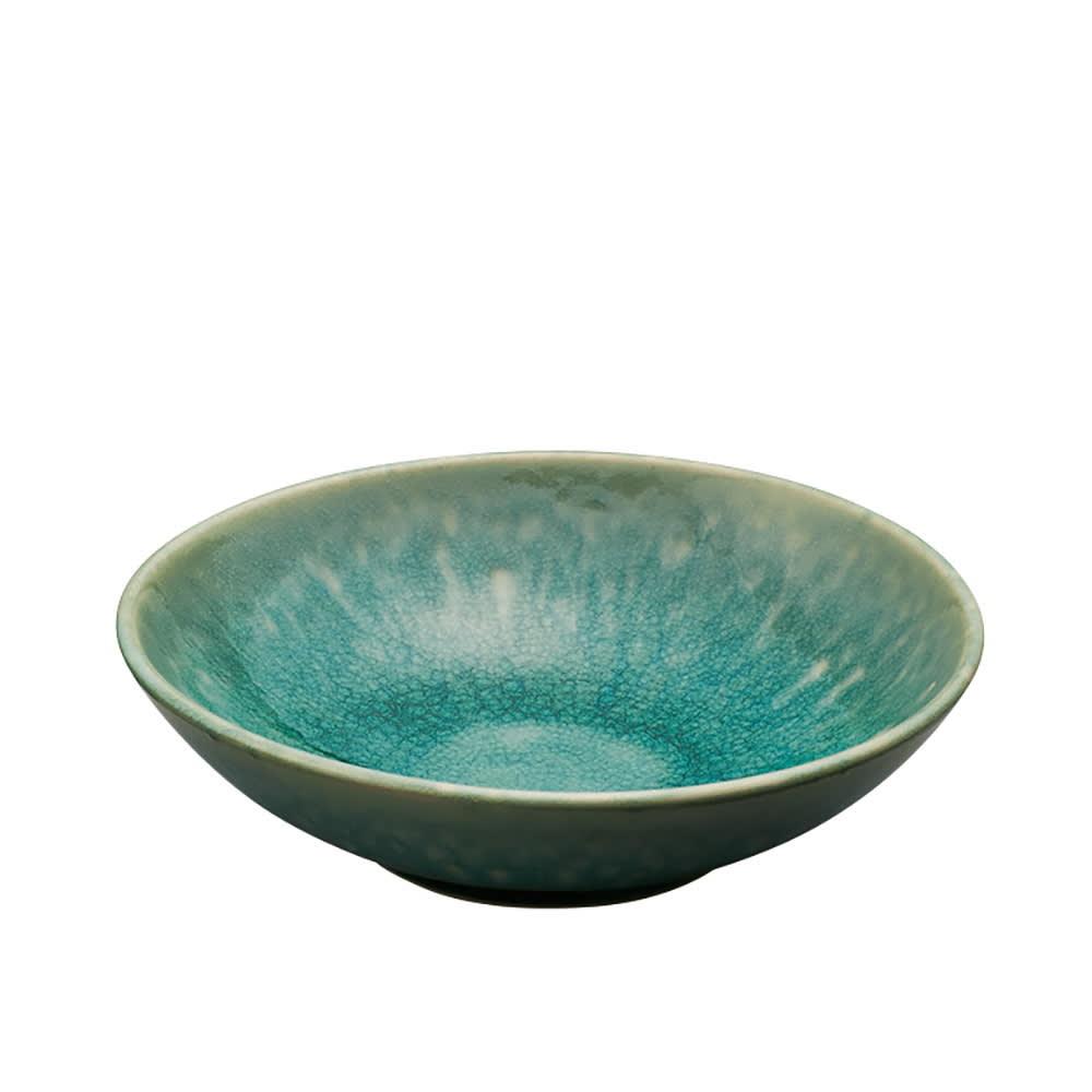 Jars/ジャス スーププレート TOURRON (ア)ジェイド 磁器のような色合いで通年活躍します。