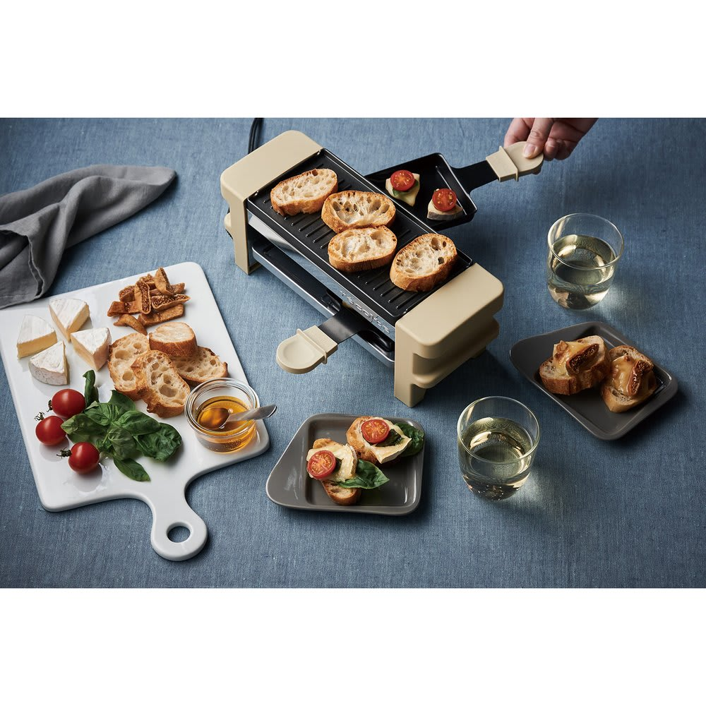 recolte(レコルト)/ ラクレット&フォンデュメーカーメルト 日の晩酌のおつまみや、休日のランチなどにもおすすめです