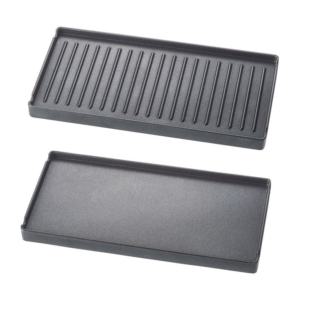 recolte(レコルト)/ ラクレット&フォンデュメーカーメルト プレートは、凹凸面とフラット面の両面仕様です