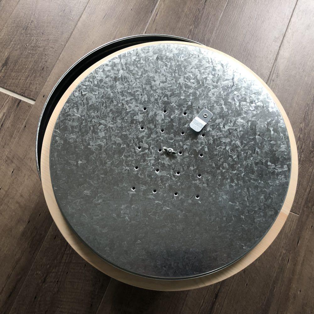 OBAKETSU/オバケツ 檜フタの米びつ 30kg用