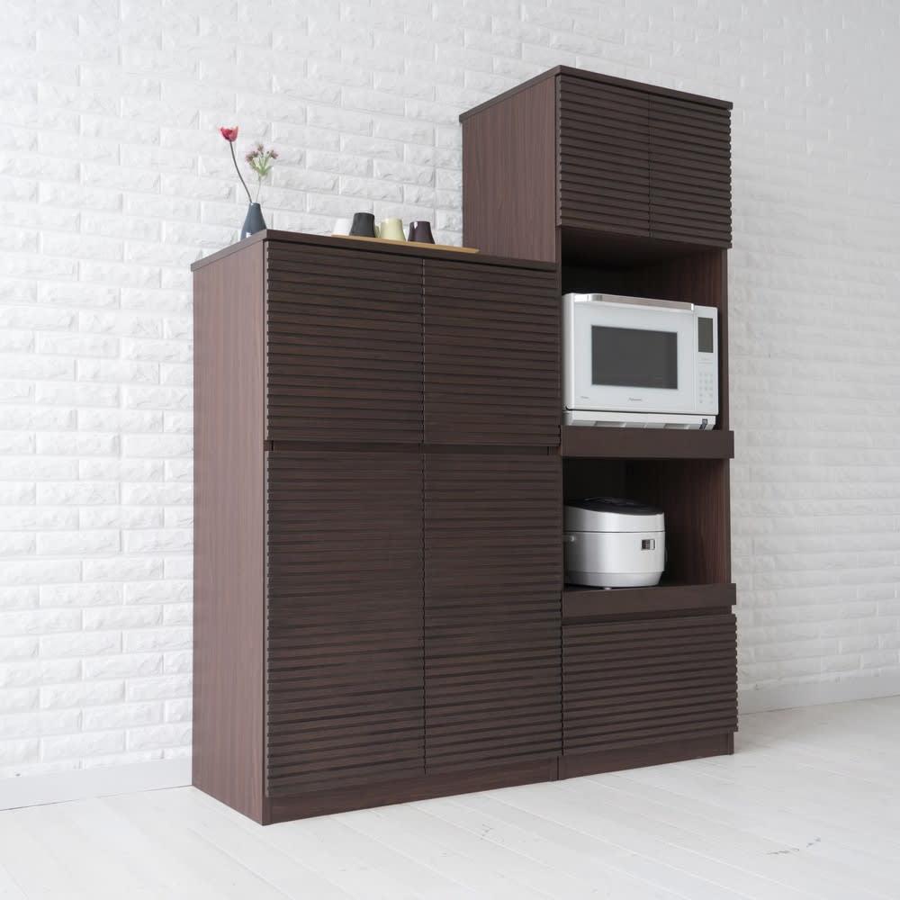 Gulf/ガルフ コンパクトキッチン キッチンキャビネット・食器棚 幅80高さ130.5