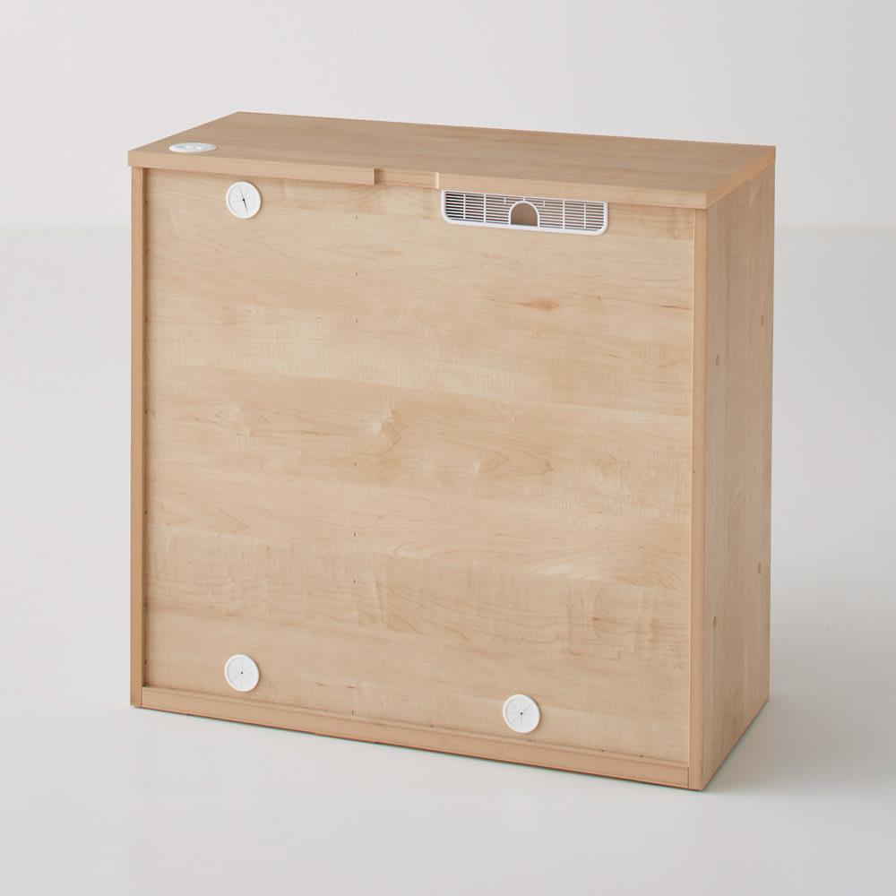 Sabio/サビオ リビング家電収納 サイドボード 幅89.5cm 背面