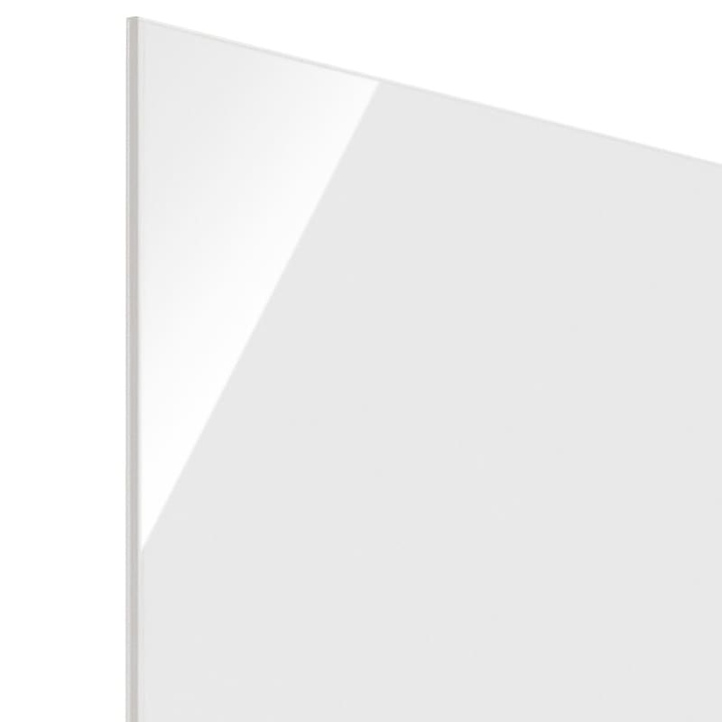 Wand/ヴァント 高さオーダー天井突っ張り本棚 幅90奥行30cm (ア)ホワイト
