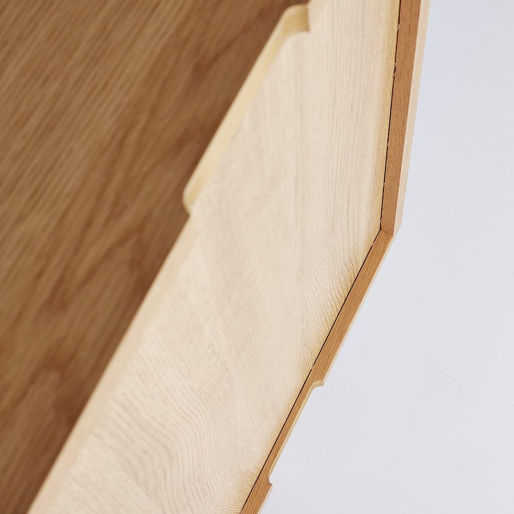 leiria/レイリア デスクシリーズ サイドチェスト 幅48cm(オーク)