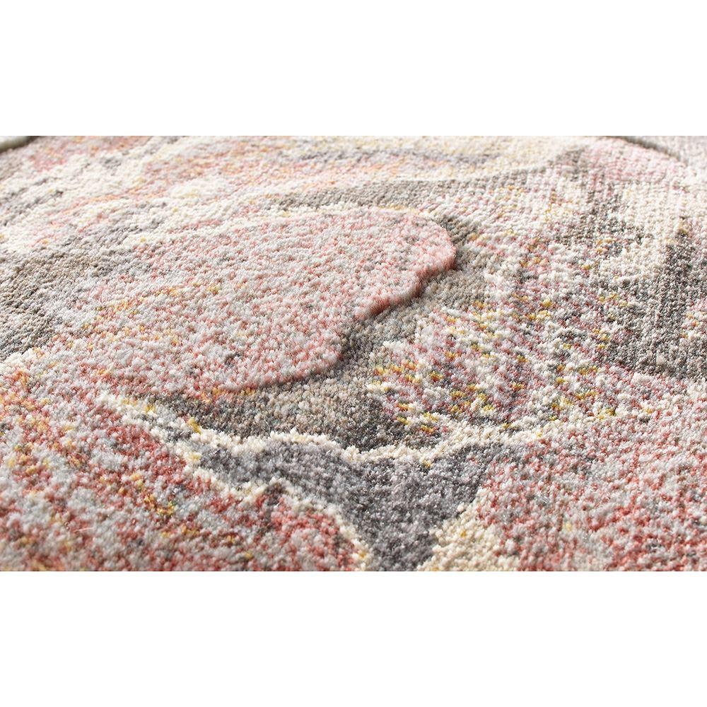 Platine/プラティーヌ ウィルトン織マット 素材アップ(ア)ピンク系 高密度でゴミが入りにくく、遊び毛も出ないので、お手入れが簡単です。
