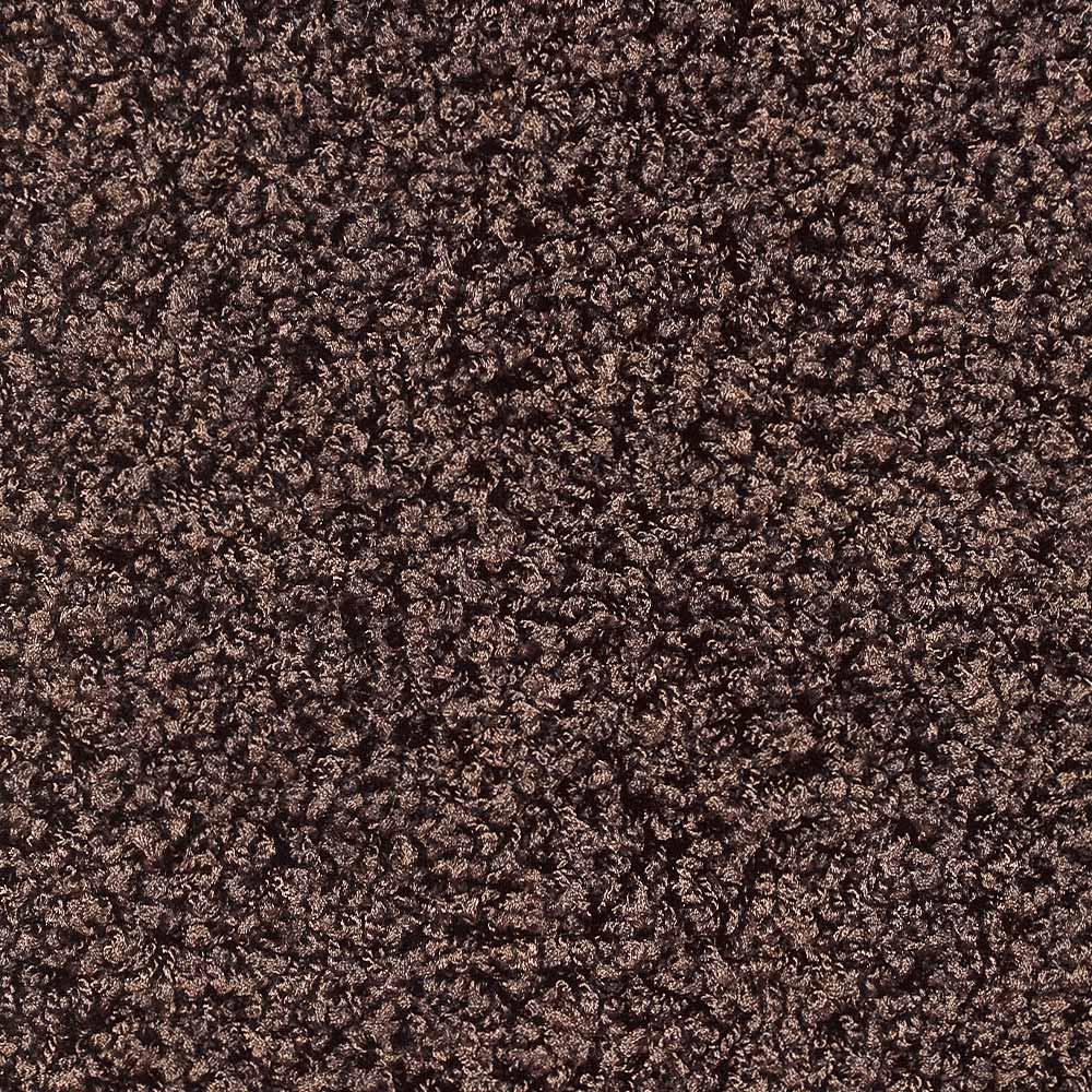 日本製ナイロン100%洗えるツイストシャギー カーペット(3畳~12畳) [素材アップ]ブラウン