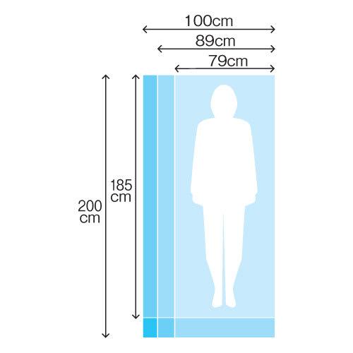 ウォルナット格子調ベッド フレームのみ ショート丈 長さ194cm 床面サイズ