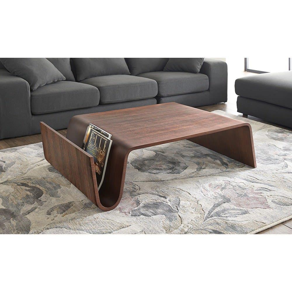 Poski/ポスキ デザインリビングテーブル ウォルナット H54706