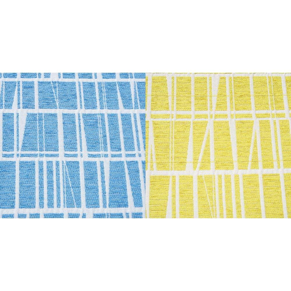 フィンレイソン マッシュルームハイスツール 高さ60cm 生地アップ (エ)コロナ/ミントブルー(カ)コロナ/イエロー
