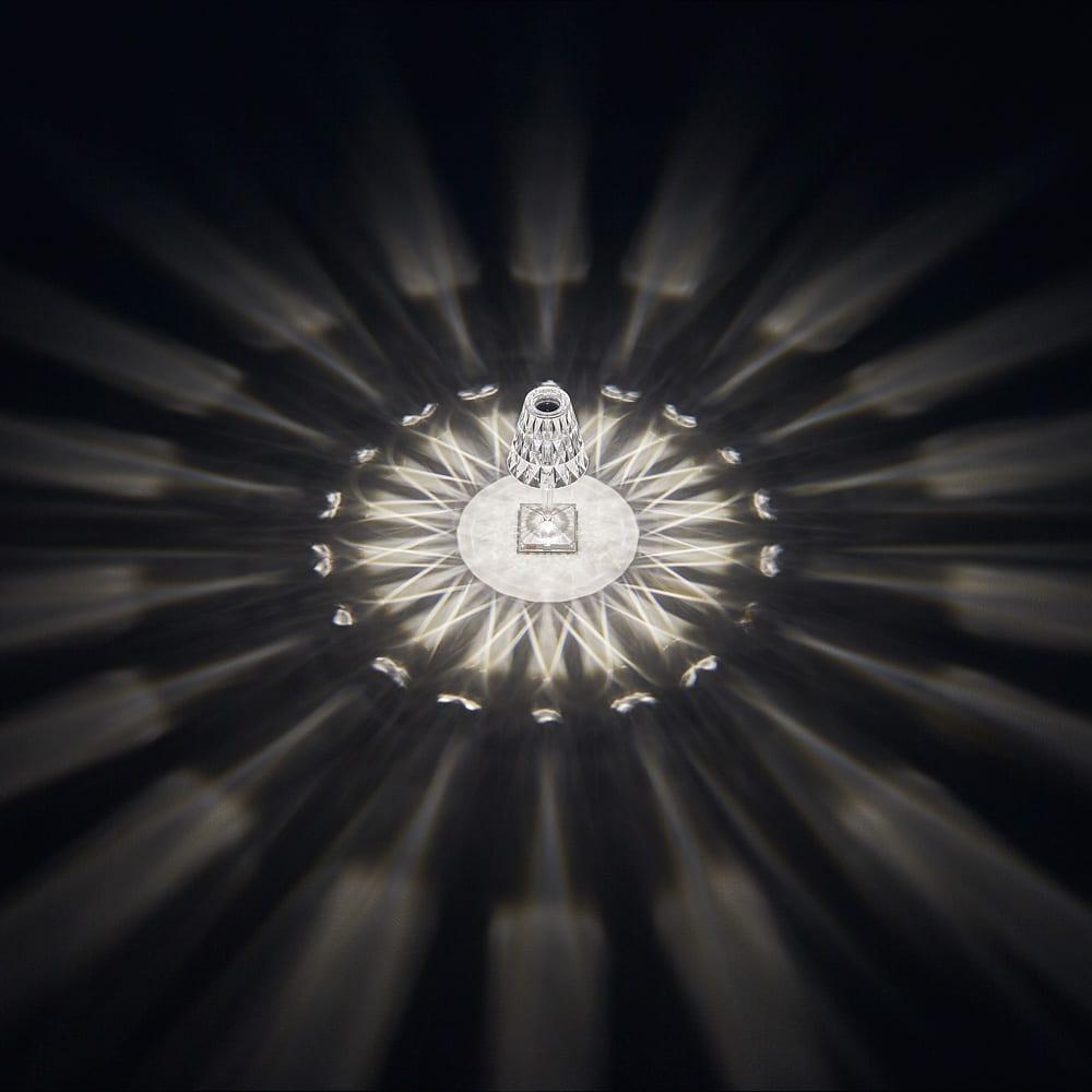 Battery/バッテリー 充電式テーブルランプ・テーブルライト [Kartell・カルテル/デザイン:フェルーチェ・ラヴィアーニ] H63318