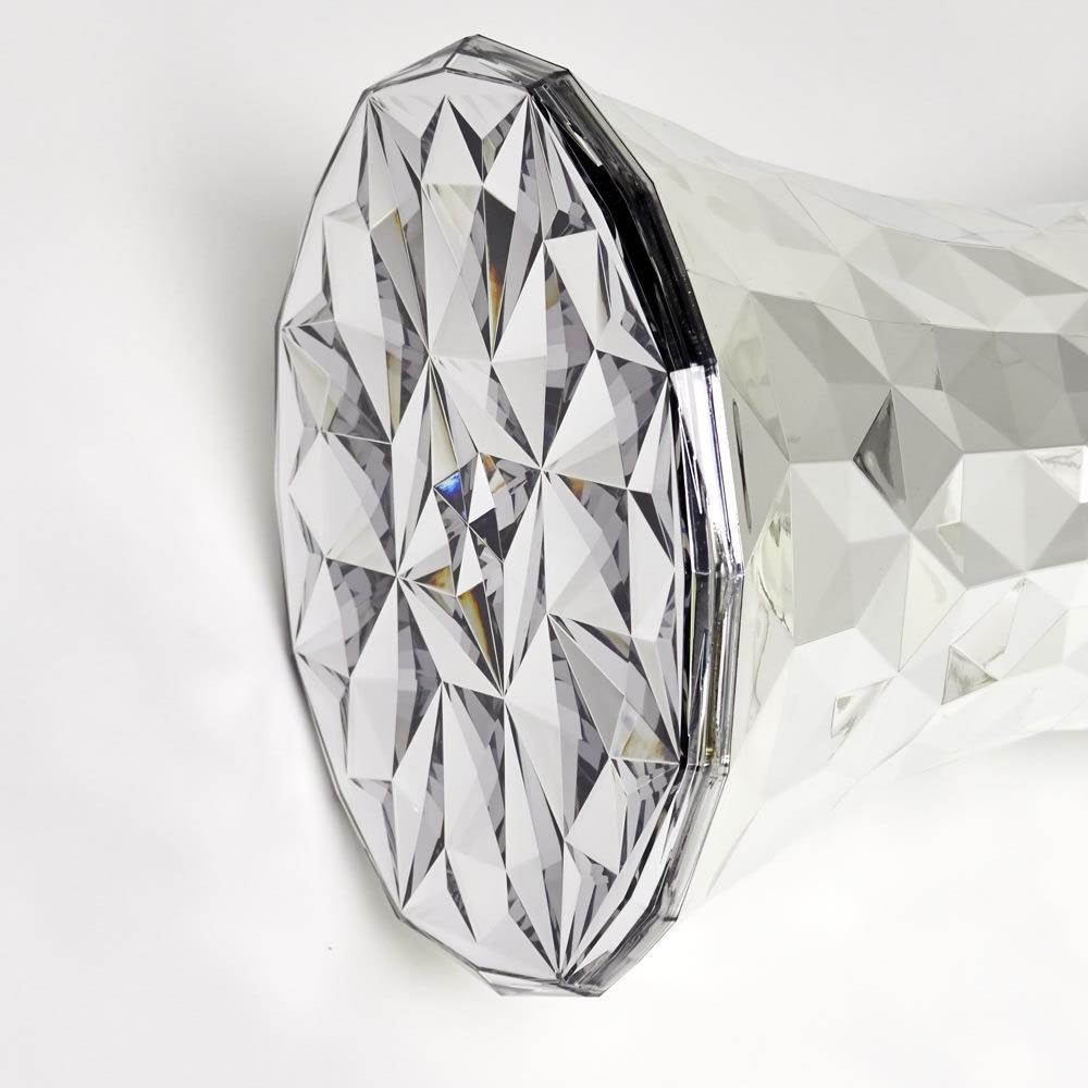 Stone/ストーン スツール クローム [Kartell・カルテル/デザイン:マルセル・ワンダース] 座面は内側からの塗装
