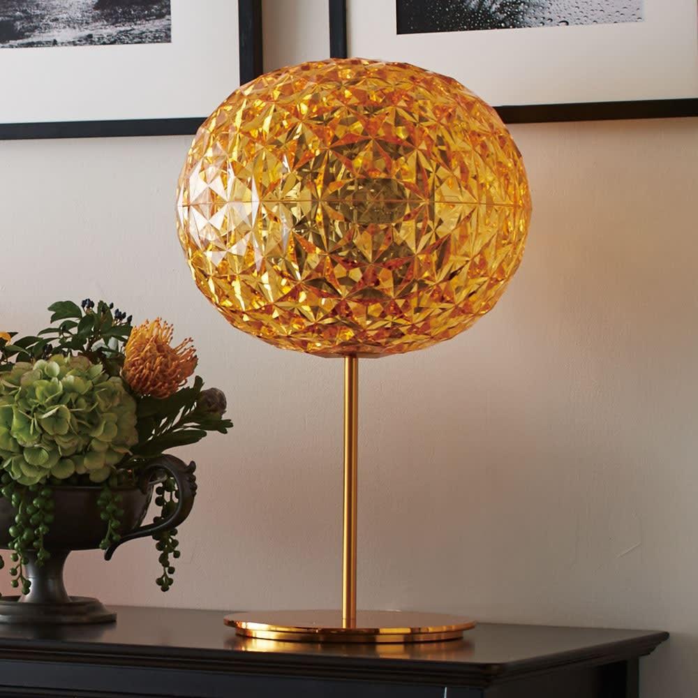 Planet/プラネット ランプ こちらは テーブルライト タイプです。(イ)イエロー