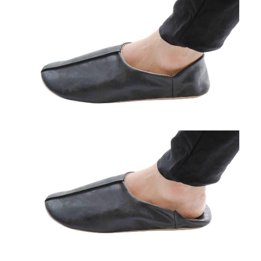 マエストロ 色・サイズが選べるスリッパ2足セット(収納ポーチ付き)