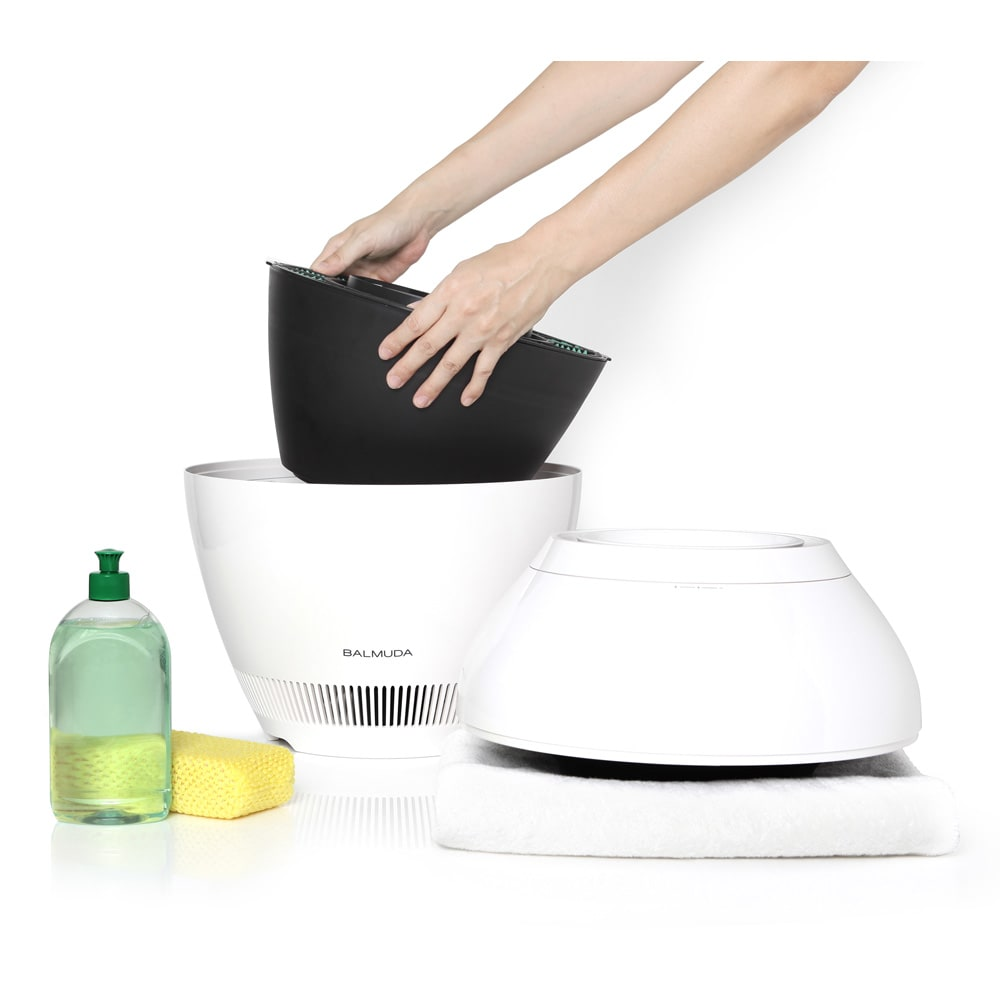 バルミューダ Rain/レイン Wi-Fiモデル WIFIモデル 本体 全て外せるので、丸洗いOKだからいつも清潔に