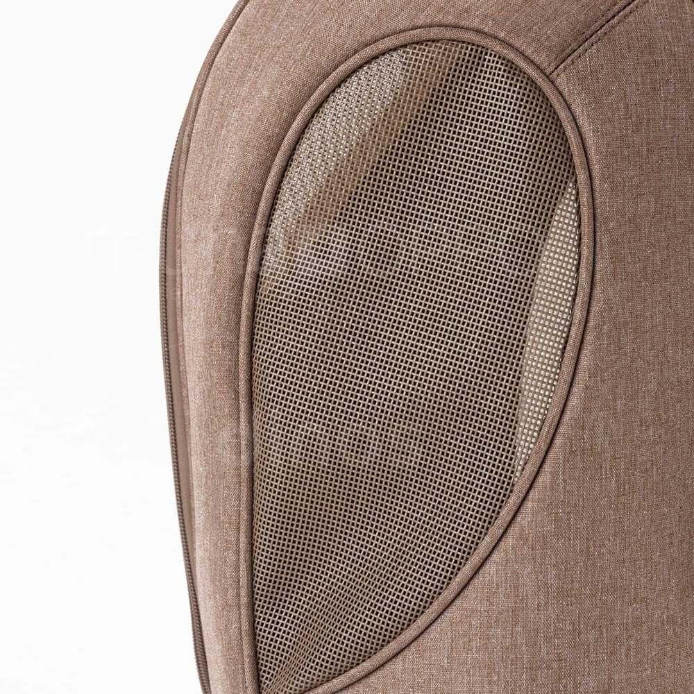 ミュナペットキャリーバッグ 爪の引っかきに強いメッシュ窓