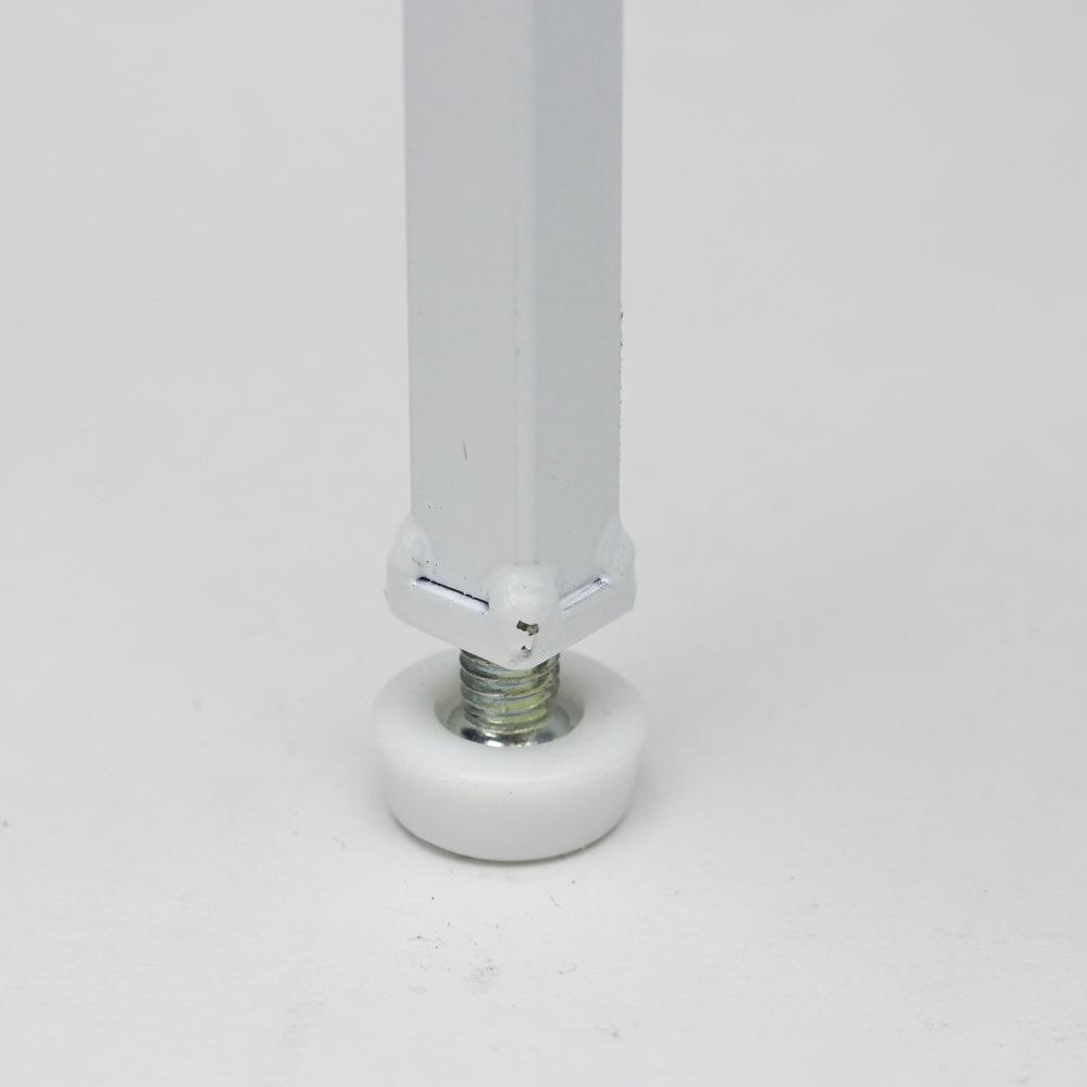 Ventol/ヴェントル スリムラック 幅30.5cm がたつきを防止できるアジャスター付き。