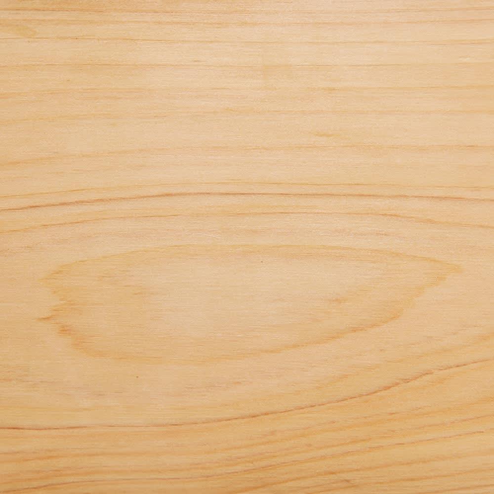 ヒノキ天然木ホウキ&チリトリセット スタンドタイプ (イ)ナチュラル ナチュラルインテリアや北欧風のスタイリングにもおすすめのかわいい色です。