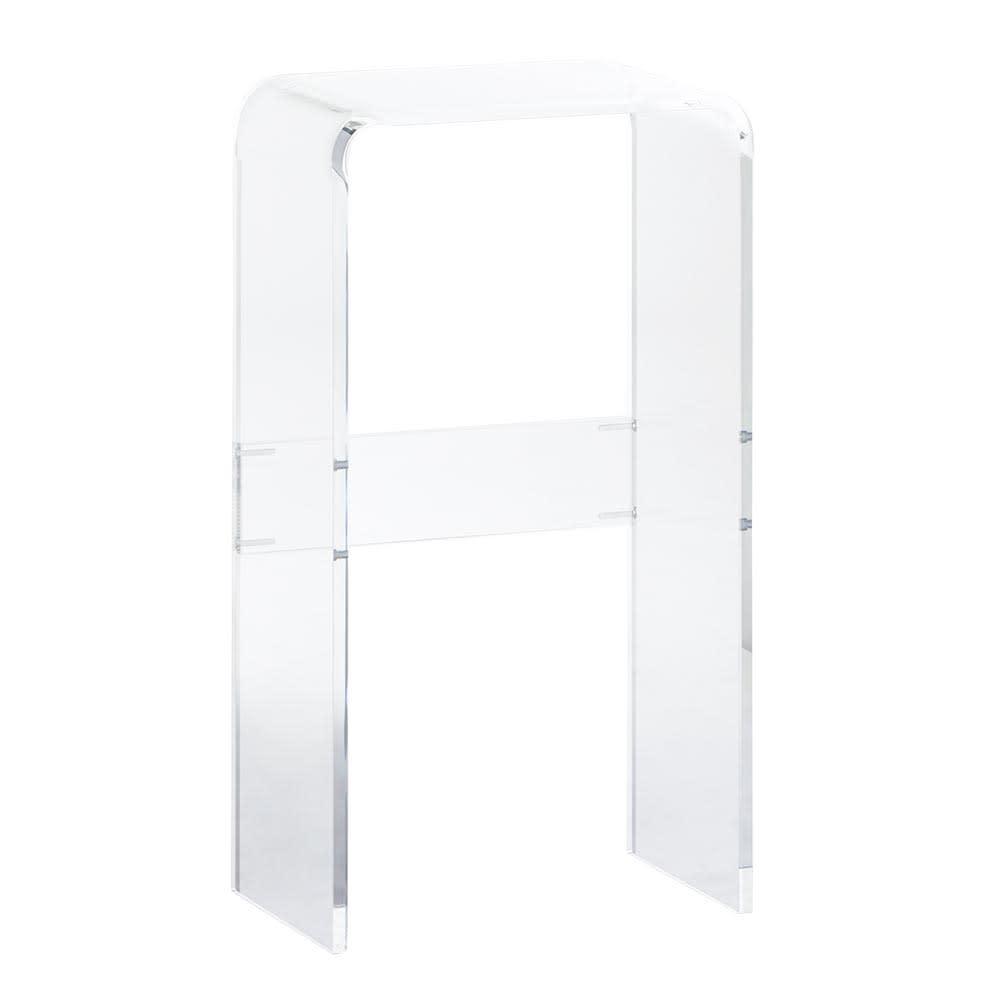 Gel/ジェル アクリルコンソールテーブル 写真は幅40cmタイプです。