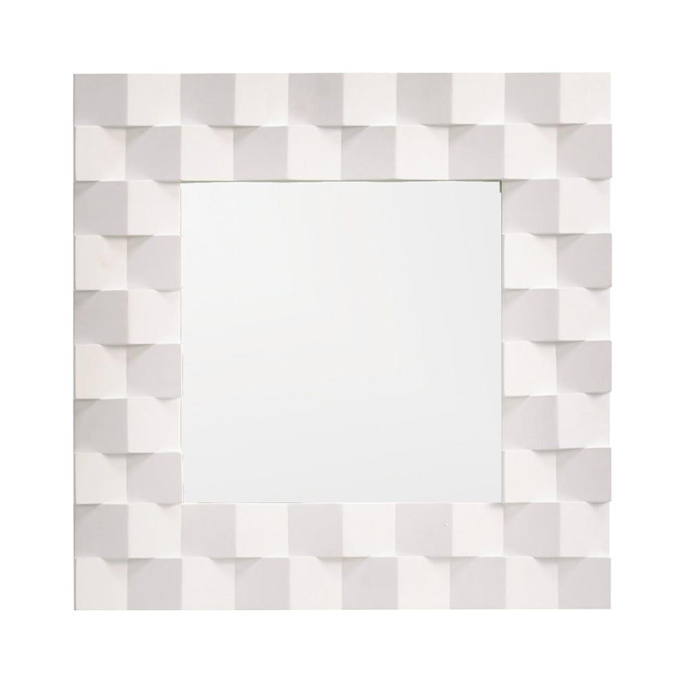 PHILOS/フィロス プリズミー壁掛けミラー・ウォールミラー 幅45×高さ45cm (ア)ホワイトウォッシュ