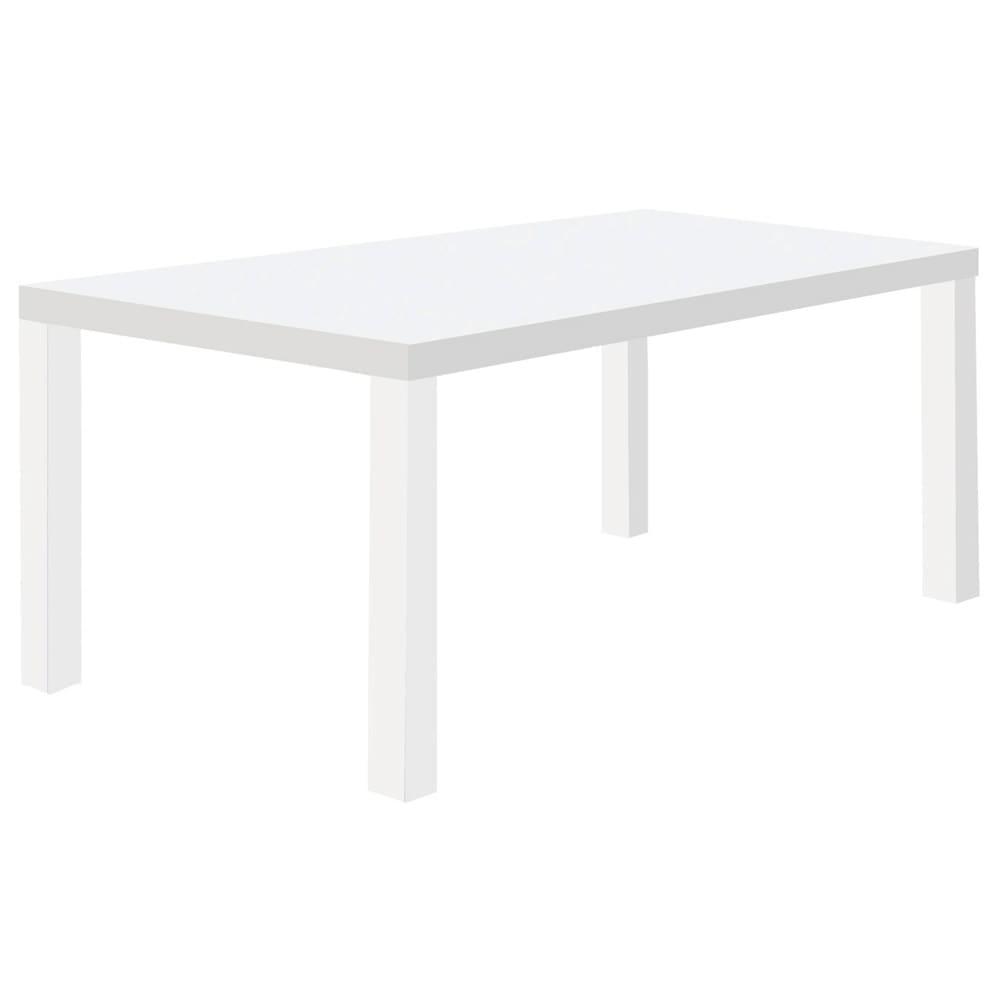 Multi マルチダイニングテーブル ウッドレッグタイプ 幅200cm 色見本:ホワイト
