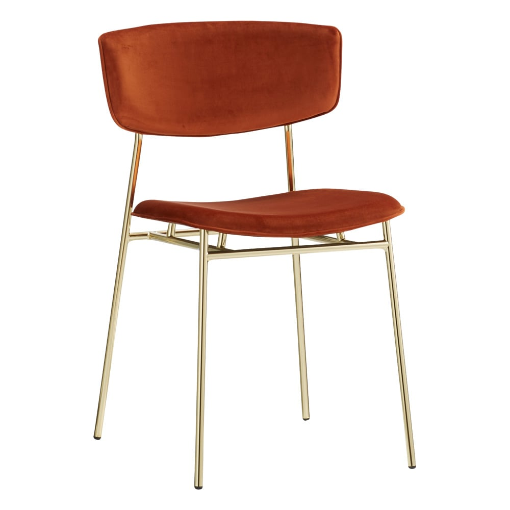 Fifties/フィフティーズ ダイニングチェア [Calligaris・カリガリス] (ア)レッド