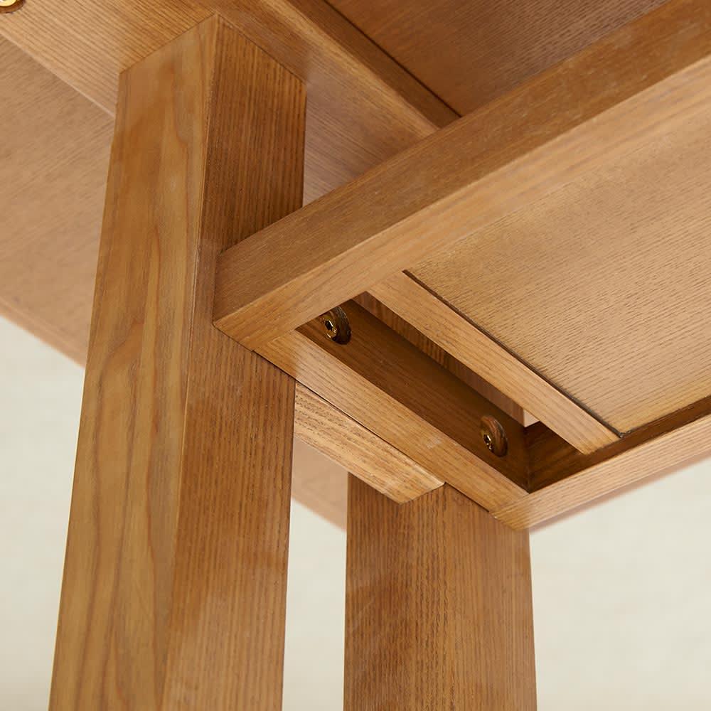 LDテーブル 幅115cm×65cm kokous/ココース LDソファシリーズ テーブル下から