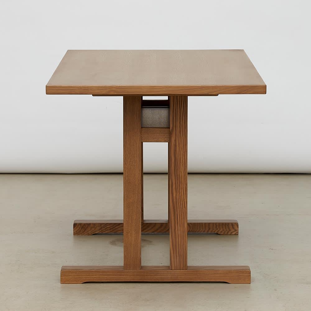 LDテーブル 幅115cm×65cm kokous/ココース LDソファシリーズ テーブル部分 縦から