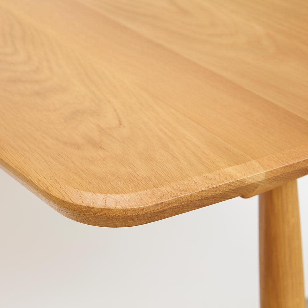 テーブル 幅150cm kolmio/コルミオ ダイニングシリーズ 天板部分アップ