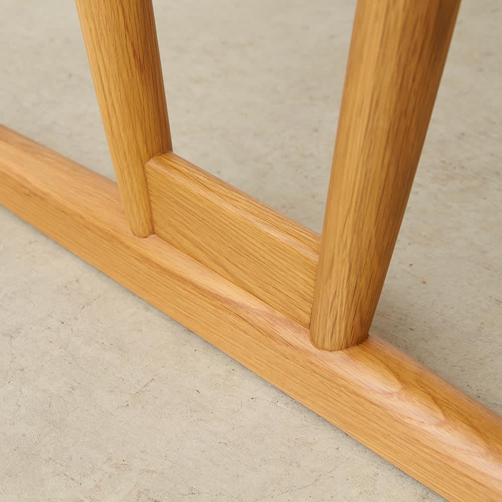 テーブル 幅150cm kolmio/コルミオ ダイニングシリーズ 脚部アップ