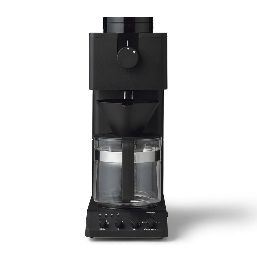 「カフェ・バッハ」 田口護氏監修 全自動コーヒーメーカー 大容量900ml(6カップ)