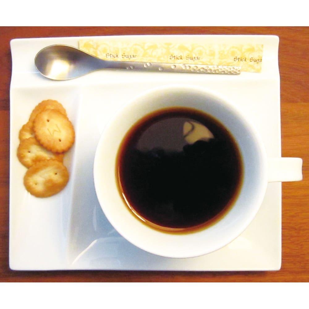 お箸が置けるパレット皿 幅17cm 4枚組 お手持ちのコーヒーカップのソーサーがわりに