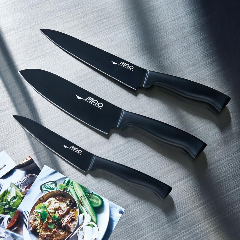 スーパーフッ素包丁シリーズ お得な三徳&ペティナイフセット(三徳包丁+ペティナイフ) ※牛刀包丁は別売りです。