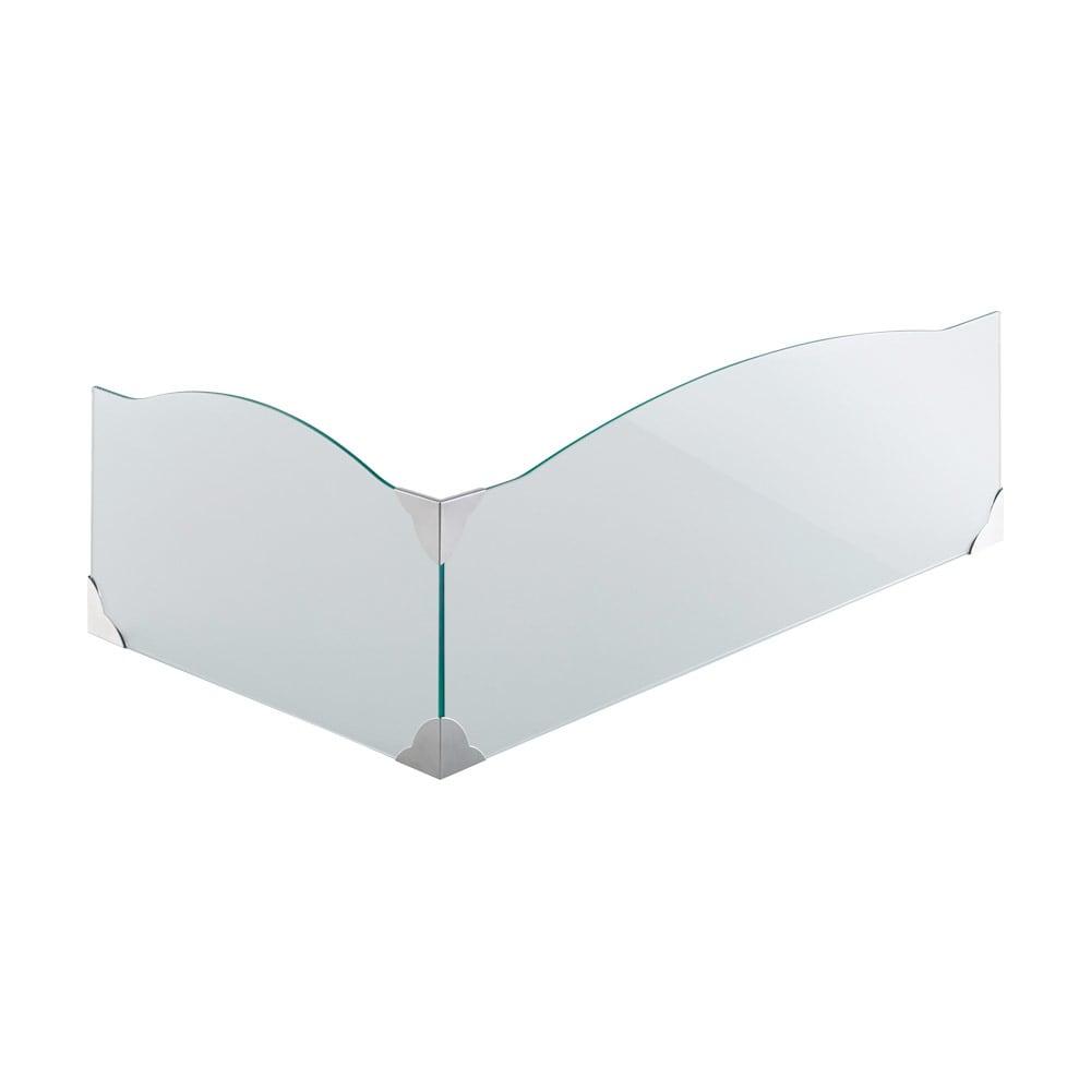 ガラスのコーナーレンジガード コンロ幅75cm用
