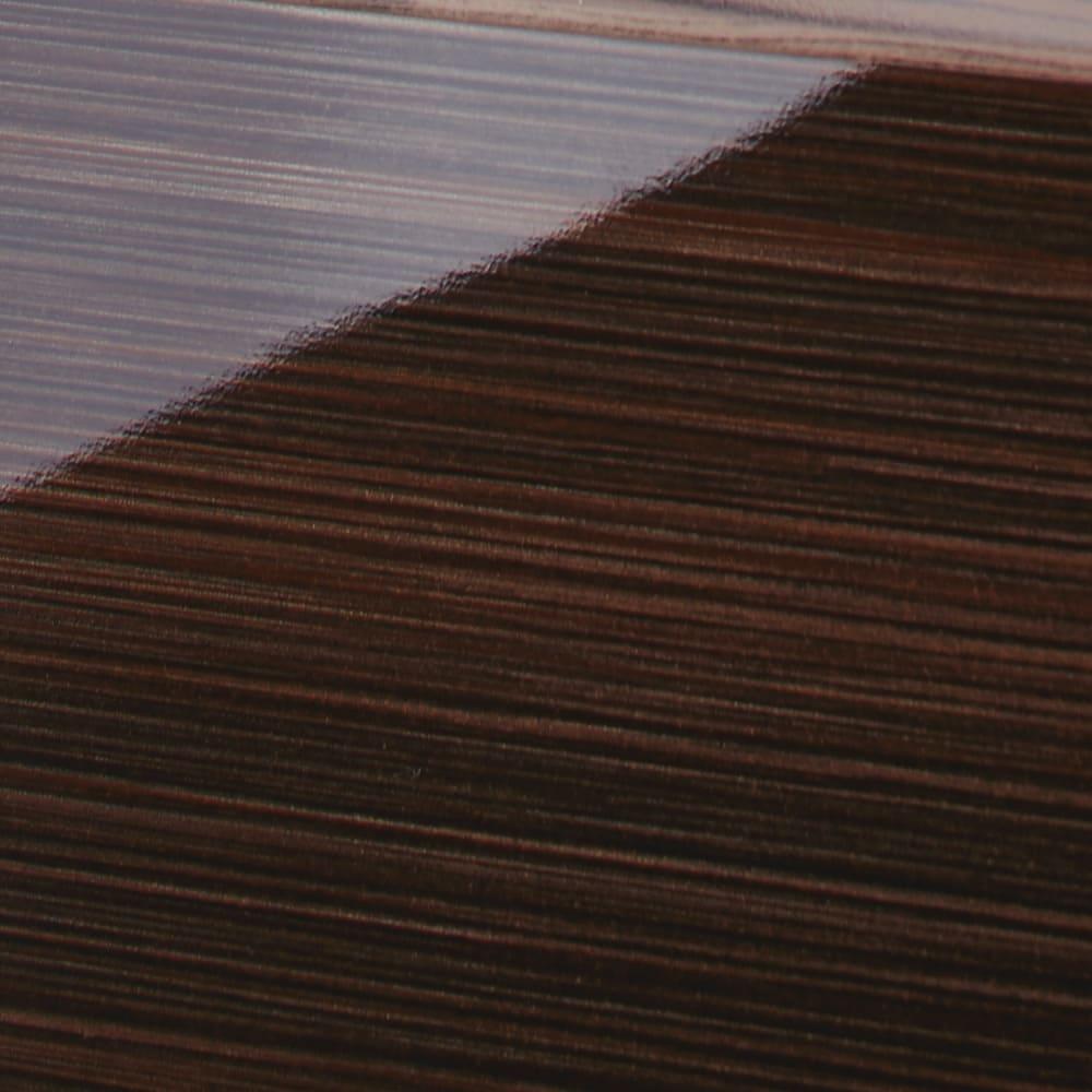 Formo/フォルモ 大理石調 ゴミ箱付きカウンター 2分別 前面は木目調で美しい光沢仕上げ。