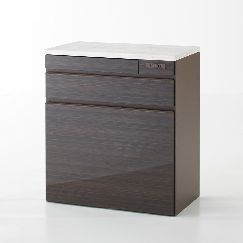 Formo/フォルモ 大理石調 ゴミ箱付きカウンター 3分別