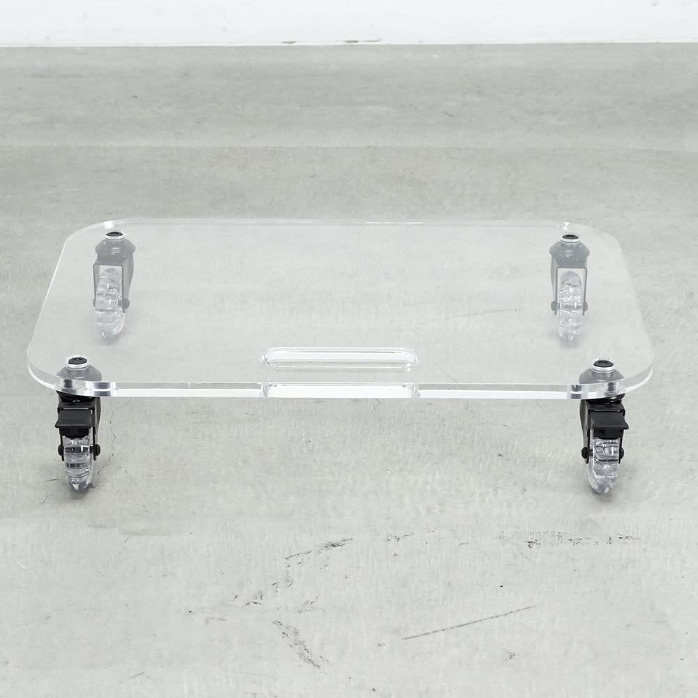 Rollen/ロレン 頑丈アクリル台車 幅44.5cm マルチワゴン