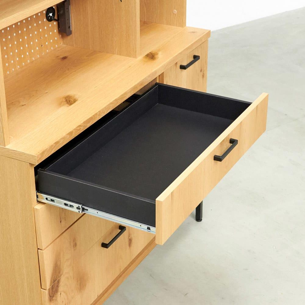 Bonno/ボノ キッチンボード・食器棚 幅120cm