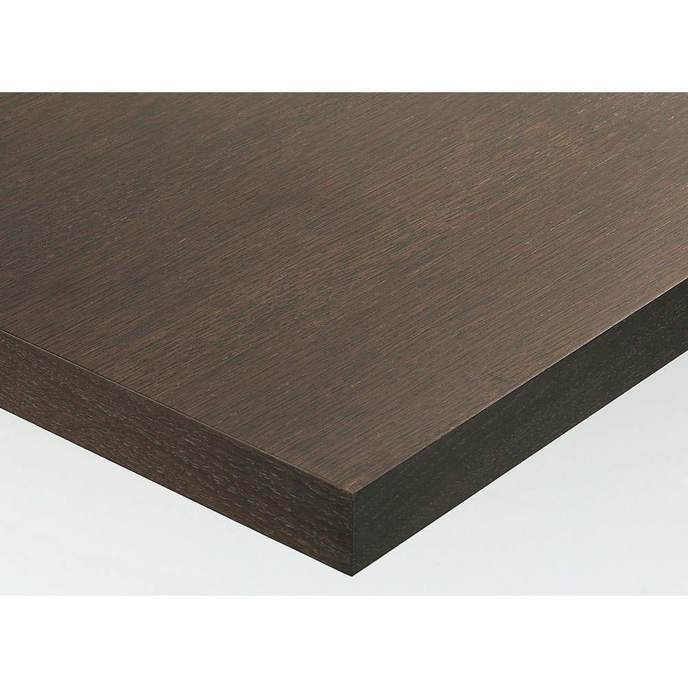 Pombal/ポンバル シェルフ 高さ224cm 連結用パーツ/追加用シェルフ1列 素材アップ ダークブラウン