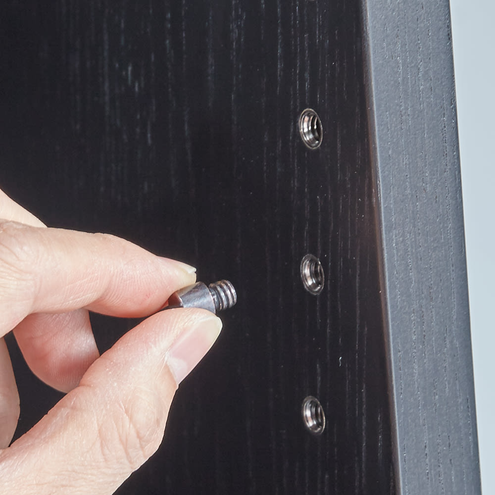 Brook/ブルック ウッドデスクシリーズ ブックシェルフ 幅60cm 3枚の棚板は可動式なのでお手持ちの本に合わせて設置可能