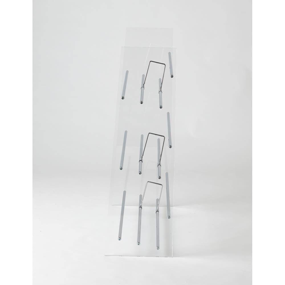 Lumiere/ルミエル  クリアブックシェルフ 幅82cm