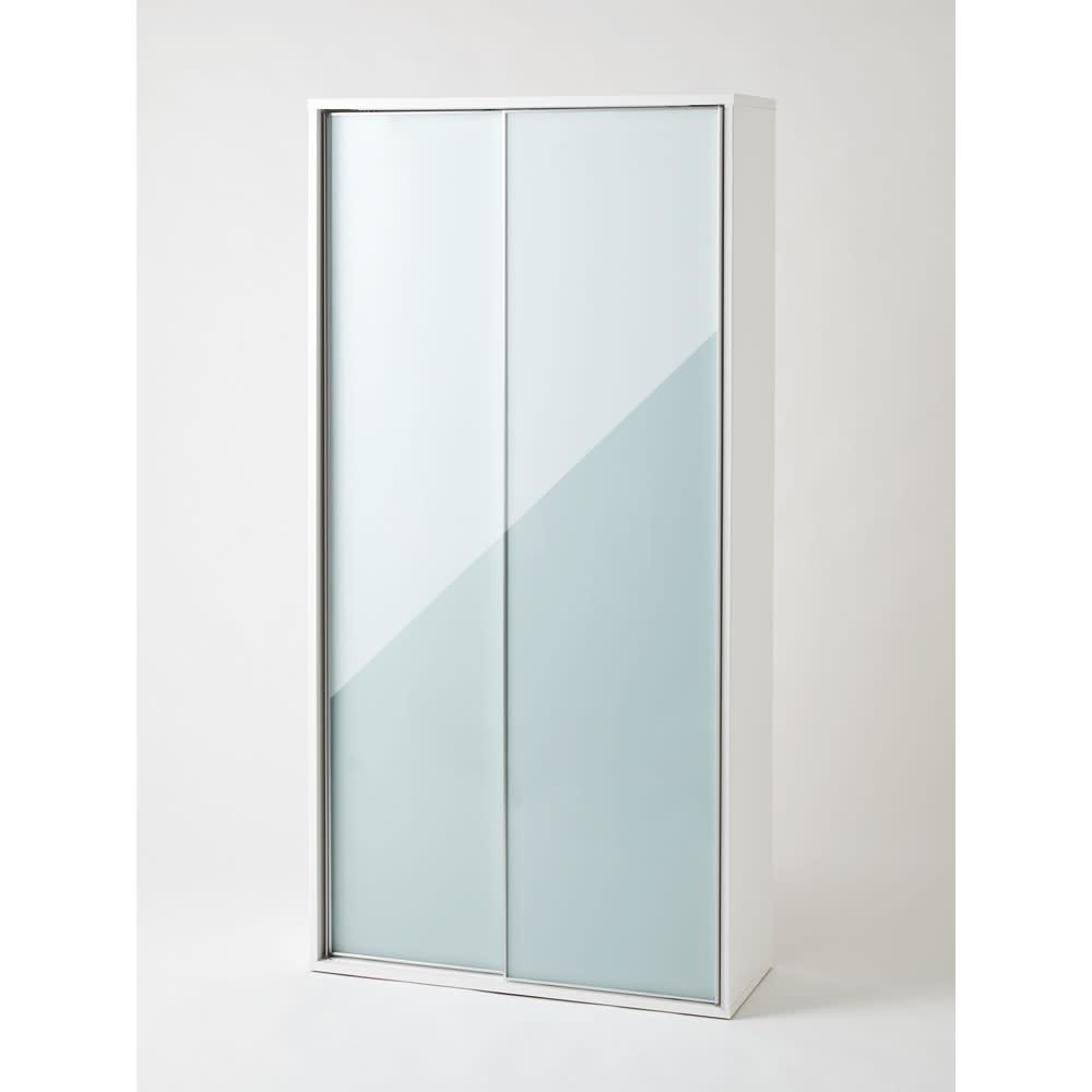 Evan(エヴァン) スライドシェルフ ハイタイプ本棚 幅90cm お部屋に圧迫感を与えにくいホワイトは、コンパクトなスペースにもおすすめです。