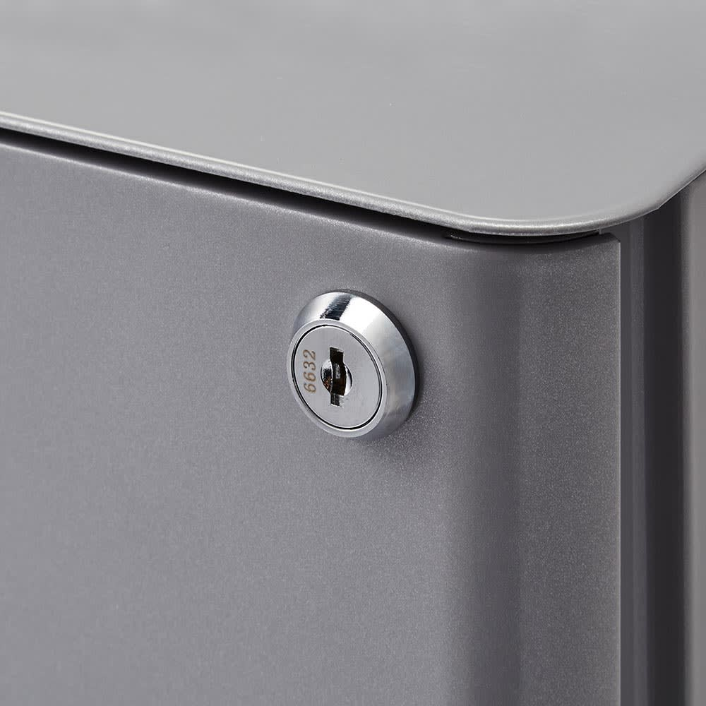 Sippone/シッポーニ スリムチェストワゴン プライバシーを守る、鍵付きです。