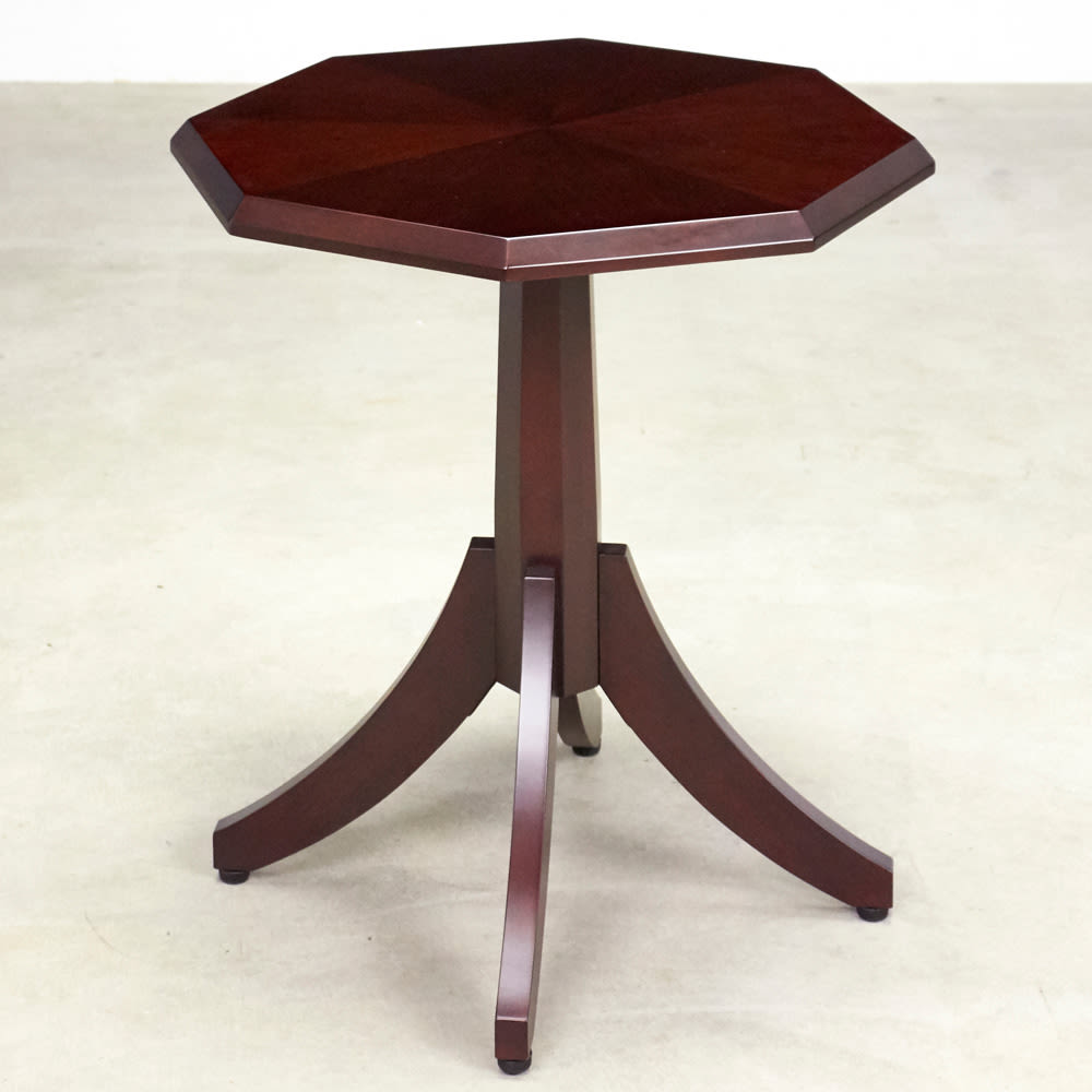Emilia/エミリア 八角形ティーテーブル 幅70cm奥行70cm