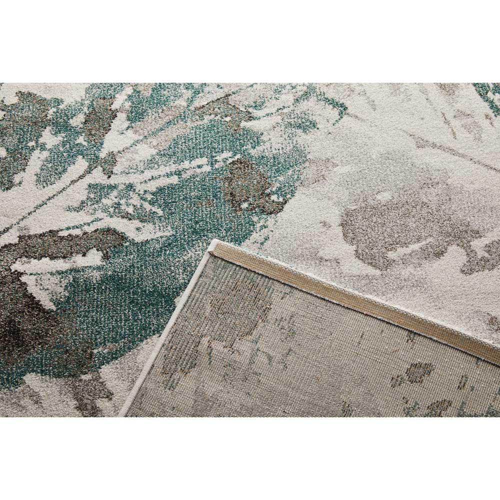 Leafy/リーフィー ウィルトン織ラグ 裏面