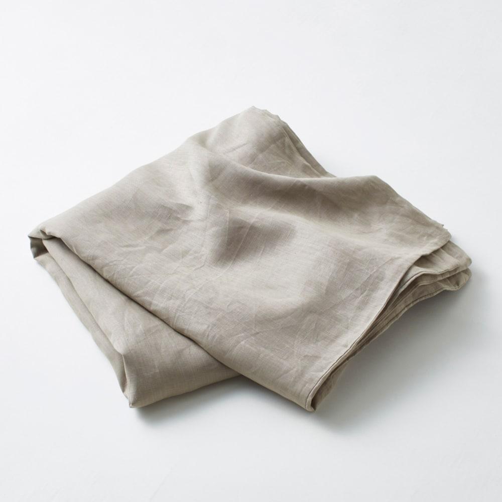 French Linen/フレンチリネン カバーリング 掛けカバー グレーベージュ(WEB限定)