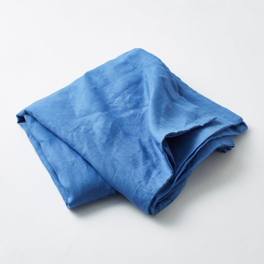 French Linen/フレンチリネン カバーリング 掛けカバー ブルー(WEB限定)