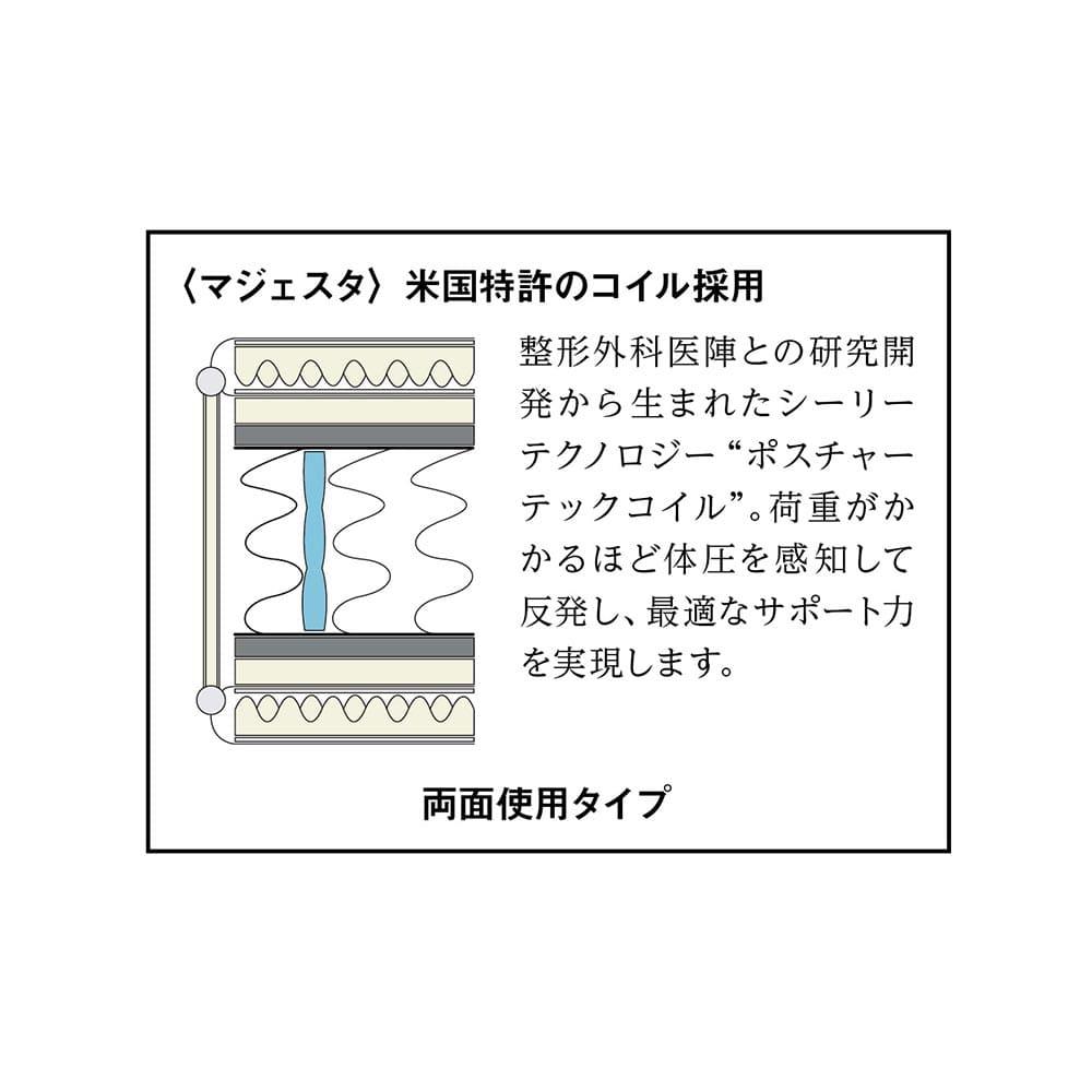 Pahkina/パーキナ 収納ベッド マジェスタ 両面使用タイプ