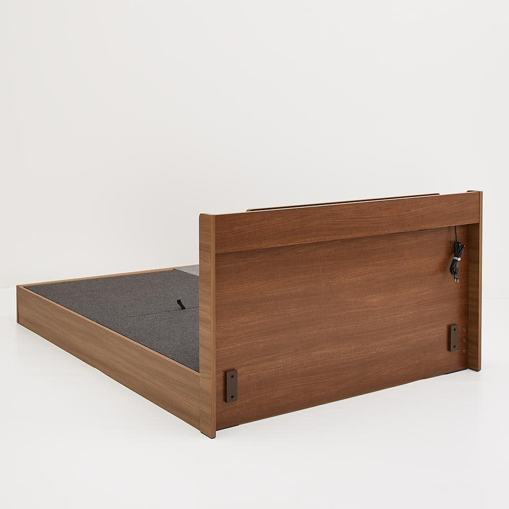 Pahkina/パーキナ 収納ベッド マジェスタ ヘッドボードの背面