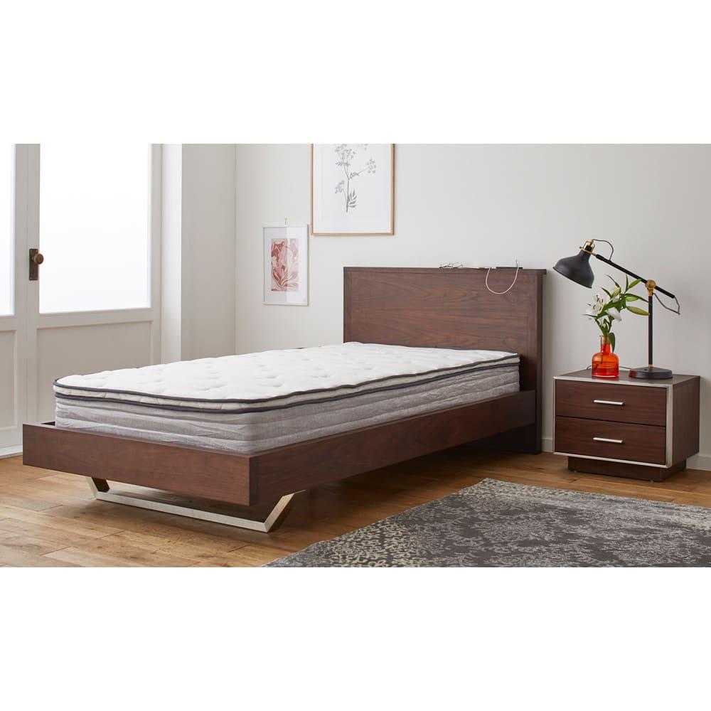 GlanPlus/グランプラス ベッド ベッドフレームのみ マットレスは別売りです