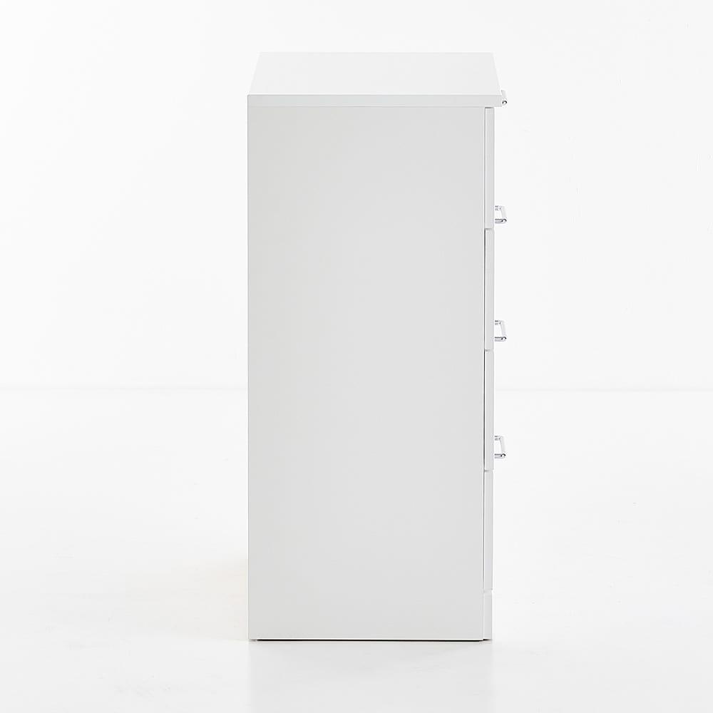 Muro/ムーロ ホワイトモダンチェスト 幅60cm 4段